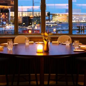 Restaurant STUDIO at The Standard on Copenhagen's harbour
